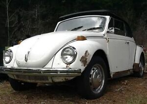 RARE 1971 Super Beetle convertible bodywork done priced to sell