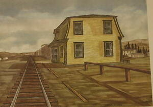 Newfoundland Railway, Avondale Station, Signed, Limited Edition