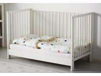 IKEA Gulliver cot and mattress almost free