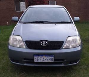 2002 Toyota Corolla Hatchback Auto Girrawheen Wanneroo Area Preview