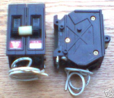New Wadsworth 15 Amp 1 Pole A215swnn Shunt Circuit Breaker