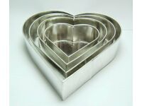 Various Shaped Cake Tins All Brand New