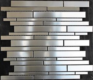 Stainless Steel Subway mosaic tile FREE DELIVERY shop online