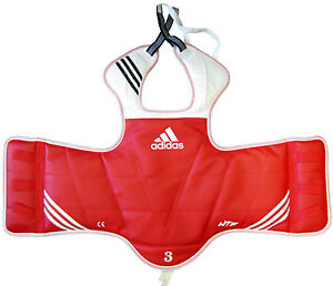 Adidas Taekwono Reversible Chest Gaurd (Size 3, Medium)