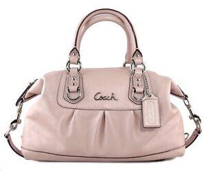 Coach Ashley Handbag light pink Leather Melbourne CBD Melbourne City Preview