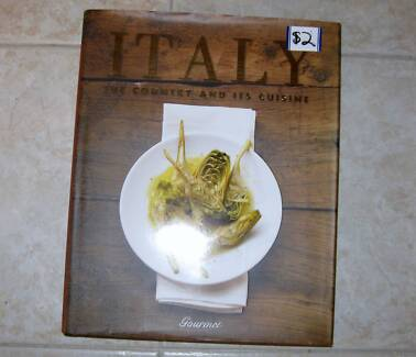 COOKING BOOK ITALY THE COUNTRY AND ITS CUISINE