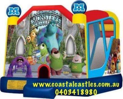 NEW MONSTER UNIVERSITY COMBO JUMPING CASTLE. Boronia Heights Logan Area Preview