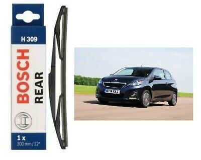 "For Peugeot 108 2014-2019 Front Window Windscreen 26/"" Flat Aero Wiper Blade"