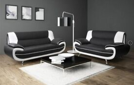 New Carol 3&2 leather sofas