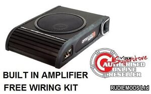 Vibe Optisound Amplified Active underseat car subwoofer 8