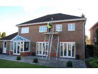 Easi-Dec scaffolding system, easy built, rolls up building