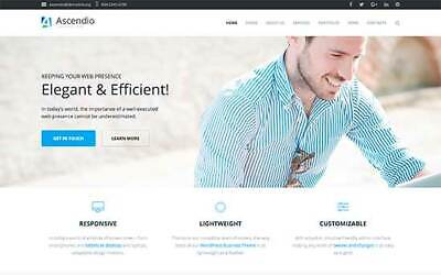 Stunning Business Website Shop Free Domain Hosting