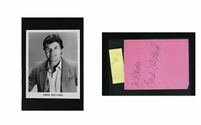 Fred Willard - Signed Autograph and Headshot Photo set - Best in