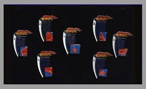 7TF 7S# * SYDNEY 2000 OLYMPIC GAMES * Torch Relay State Pin Set * Silver