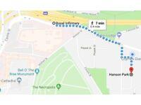 Car Parking Space Hanson Park ideal for The Royal Infirmary Hospital, City Park (Firpark Close)