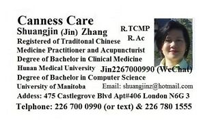 Traditional Chinese Medicine Practitioner and Acupuncturist London Ontario image 2