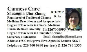 Traditional Chinese Medicine Practitioner and Acupuncturist London Ontario image 1
