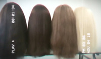 INDIAN REMY STYLISH AFFORDABLE WIGS - HUMAN HAIR - #1 HAIR MTL