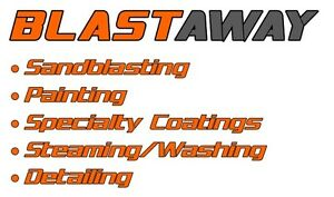 Need Sandblasting & Painting? Use Blastaway Enterprises Ltd.