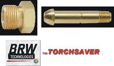 Argon Bottle Fitting Western 92 Nut 15-8 Nipple X 14 Pipe Threadcga-580set