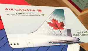 $1500 Air Canada Electronic Gift Card (Not physical card)