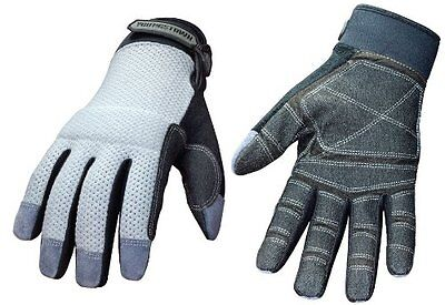 Youngstown Glove 04-3070-70-xxl Mesh Utility Plus Performance Glove Xxlargegray