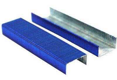 Swingline Colored Staples Standard 14 Length Color Bright Staples Blue