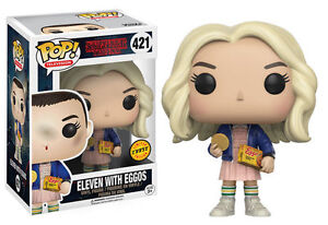 Stranger Things Eleven With Eggos #421 (CHASE) at JJ Sports!