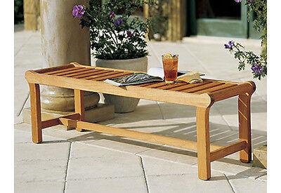 Revni Grade-A Teak Wood Backless Bench (55