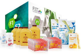 Brand New & Sealed ❤ FOREVER LIVING ❤ F.I.T 1 Pack ❤ C9 ❤ Vanilla/Chocolate £200 ONO RRP £220