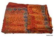 Vintage Beaded Sari