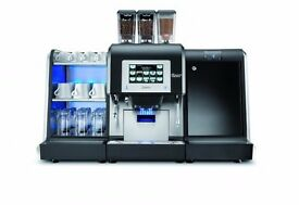 Commercial Coffee Machine Coffee Beans with Fresh Milk, ideal for Golf Course, Garden centre etc