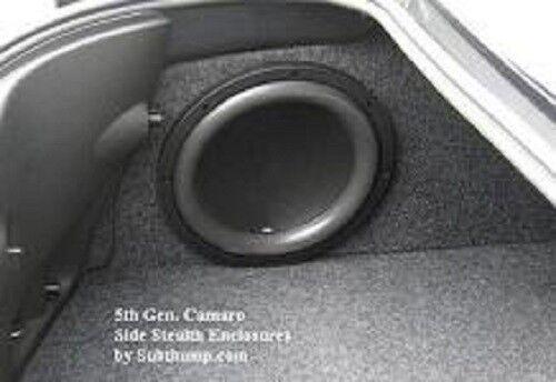2010-2015 Camaro LS/LT/SS/ZL1 Large Drivers Side Stealth Box Sub Enclosure