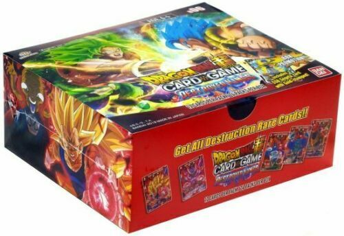 Dragon Ball Super Series 6 Destroyer Kings Booster Box - 24 Packs SEALED!