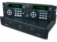 NUMARK DVD01 RACK MOUNTED CD/DVD DJ PLAYER