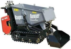 Tracked dumpers / Mini skid steers