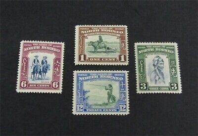 nystamps British North Borneo Stamp # 193//200 Mint OG H $42   L30x3014