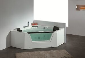 New Whirlpool Bathtub for Two People – New AM156