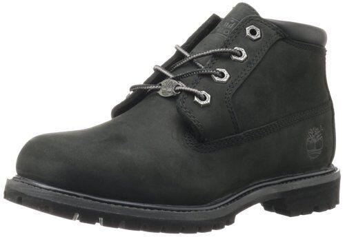 Women's Shoe Timberland Nellie Waterproof Lace Up Chukka 23398 Black *New