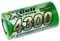 2x Xcell Racing Ni-mh 4300mah 1,2vv Sub C X4300scr Batería Modelismo -  - ebay.es