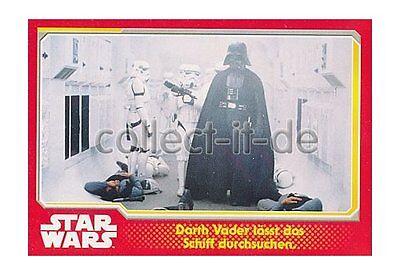 Star Wars Darth Vader Schiff (Topps Journey to Star Wars Nr. 2 - Darth Vader lässt das Schiff durchsuchen)