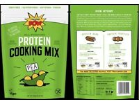 Protein Pow 450g Pea Protein Cooking Mix for Gym users make Protein Bars / Protein truffles etc.