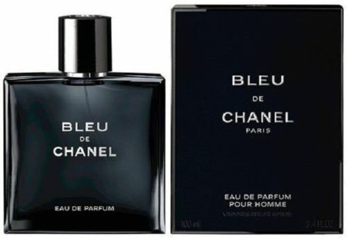 Bleu De Chanel Eau De Parfum Pour Homme 3.4 oz / 100 ml NIB Sealed