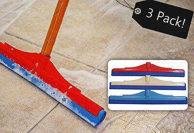3 floor squeegees wiper 41cm 16