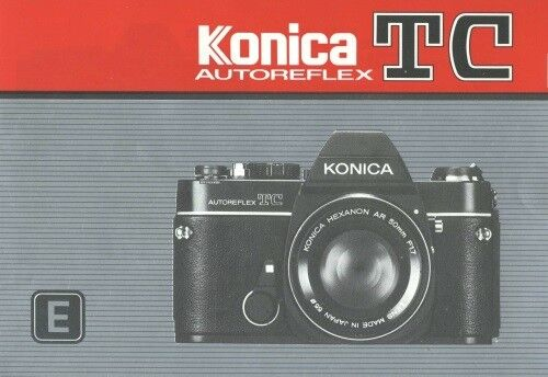Konica Autoreflex TC Instruction Manual