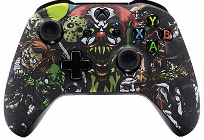 Scary Party Xbox One S   X Custom Un Modded Controller Unique Design