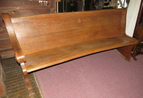 Church Pew Bench Ebay