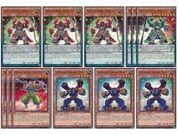 Yu-Gi-Oh! BOSH Set- Superheavy Samurai Magnet/ Prepped Defense Yugioh