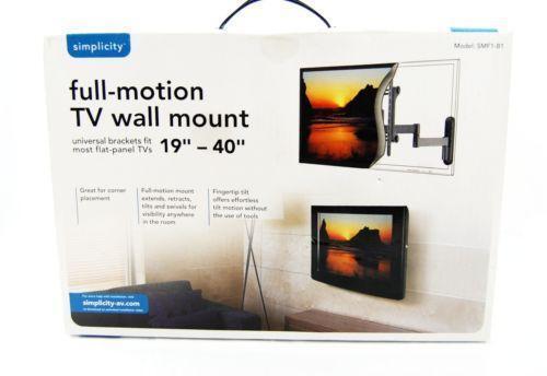 Simplicity Tv Mount Ebay