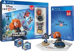 Disney infinity 2.0 starter pack PS4